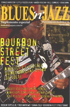 PROGRAM 'BOURBON ST.MUSIC CLUB'  SAN PAULO, BRAZIL 2006