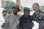 KOKO TAYLOR AND DA KING AT PONOCO BLUES FESTIVAL, TALKING ABOUT DAYS AT THE 'DEW DROP INN'.