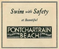 PONCHARTRAIN BEACH - 1955
