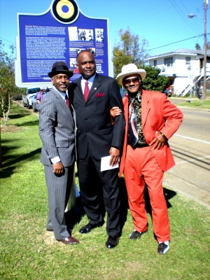 MAYOR ZACHARY PATTERSON PROVIDES A WELCOME HOME TO VASTI JACKSON AND LITTLE FREDDIE KING,