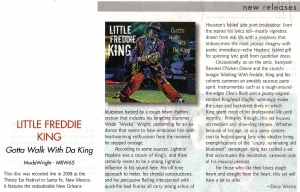 LIVING BLUES MAGAZINE / APRIL 2010